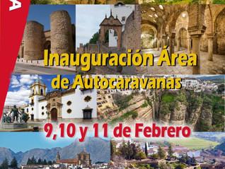 Área Autocaravanas en Ronda.