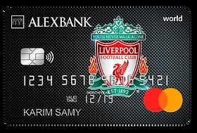 Alex Bank Liverpool FC World Credit Card