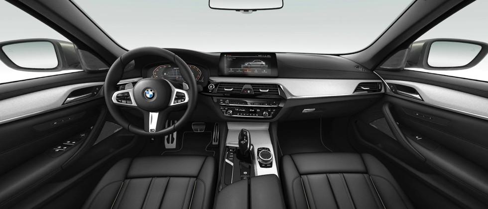2020 BMW 5 Series M550i xDrive Front Int