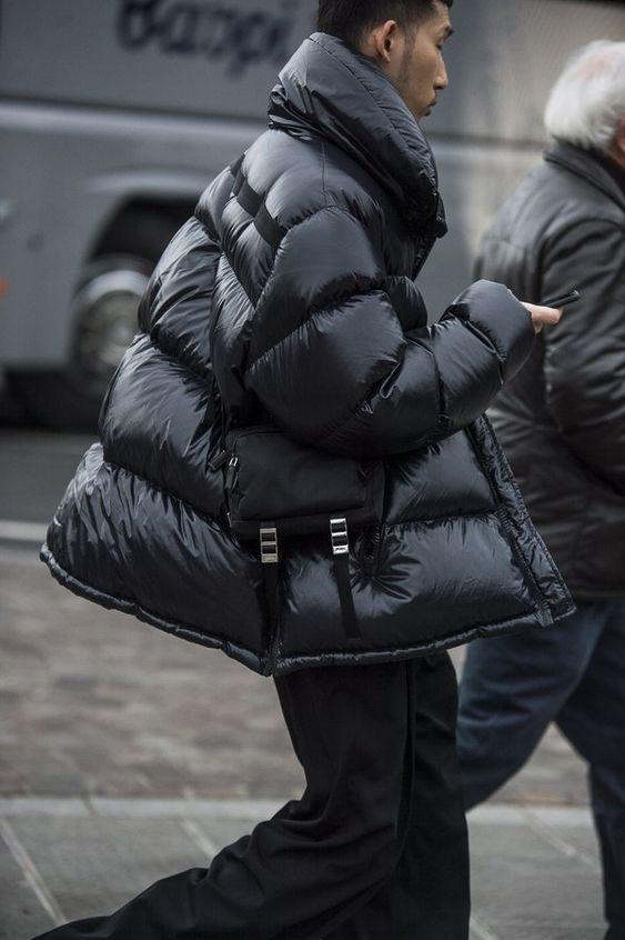 Tendendia invierno: campera y chaleco puffy
