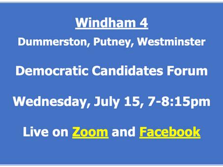 Democratic Candidate Forum - Windham 4