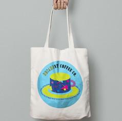 Totally Tubular Tote Bag