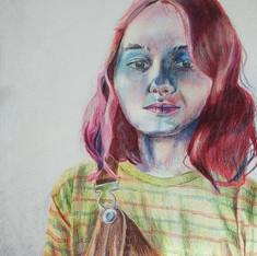 Colored Pencil and Graphite