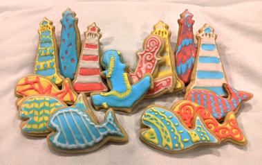 Nautical Themed Cookies