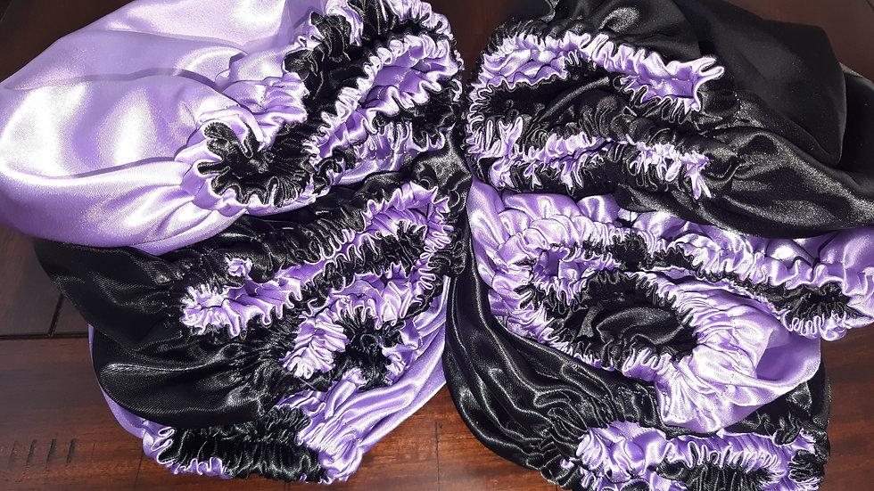 Handmade Satin Bonnet
