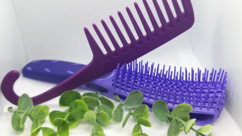 Detangling Brush & Comb Set