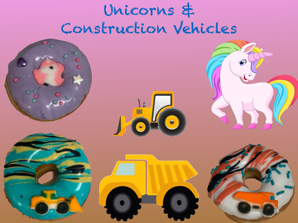 Unicorns & Construction Vehicles