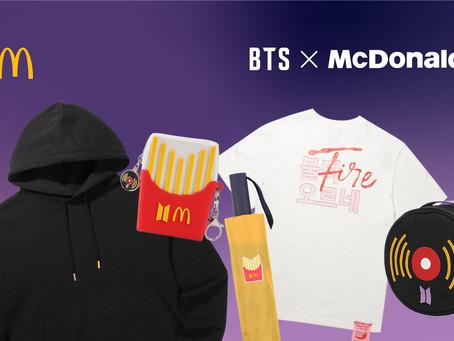 Les repas de McDonald's n'ont jamais été aussi populaires, grâce à l'influence de BTS