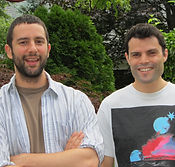 Itamar Moses and Gaby Alter, writers of Nobody Loves You