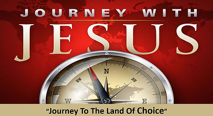 Journey With Jesus Sermon Series Banner.