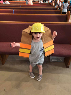 Our little construction worker!