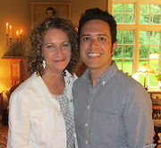 Adam Gwon and Michele Lowe, writers of The Proxy Marriage