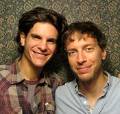Alex Timbers and Michael Friedman, writers of Love's Labour's Lost