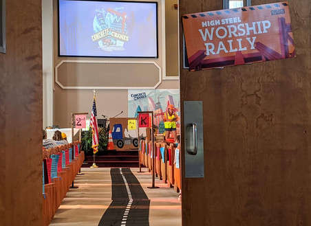 Worship Rally Entrance