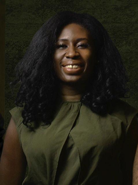 Portrait of Joy Ekuta