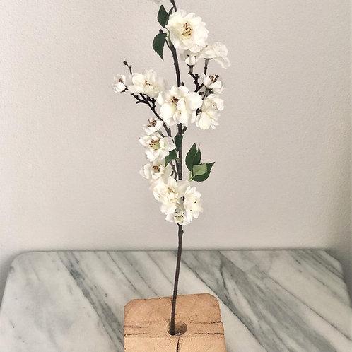 Kirschblütenzweig weiss 62 cm
