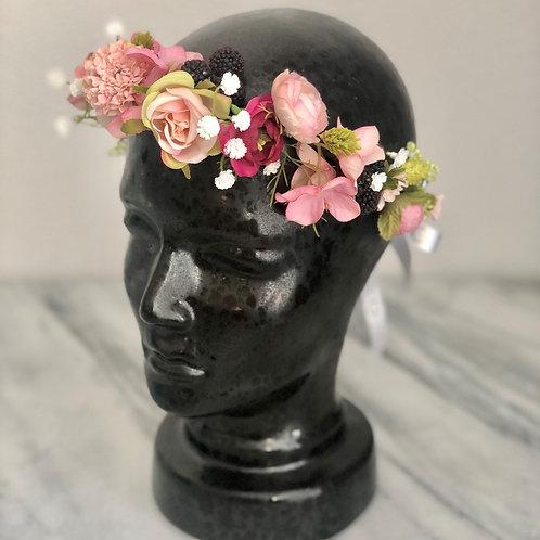 Flower Crown - Kunstblumen Krone