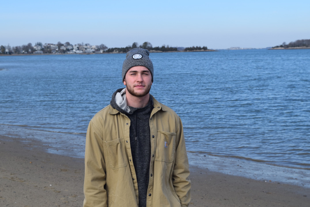 Cole in our Carhartt Hat