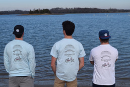 Cole, Brenden, and Jared in our JT Strong tees