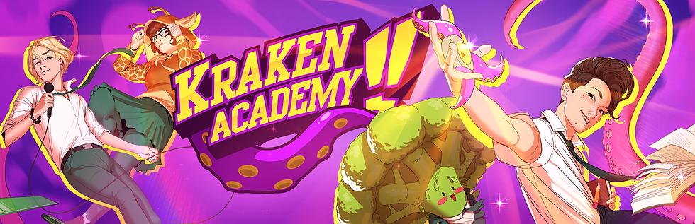 Kraken Academy Key Art