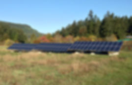 golden tree farm, solar panels