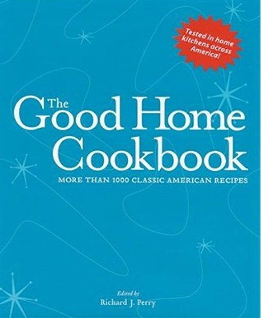 good home cookbook