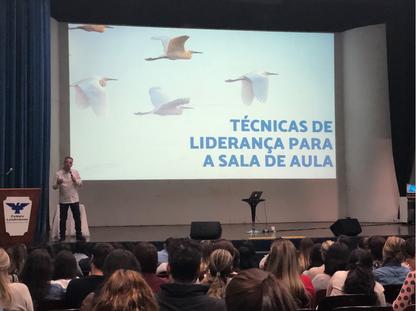 Paletra no Colégio Londrinense