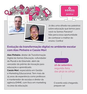Palestra Cássio Mori - Tecnologia
