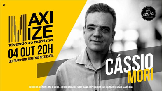 Palestra Cássio Mori - Artur Nogueira