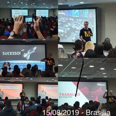 Palestra Cássio Mori - Brasília
