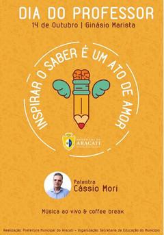 Palestra Cássio Mori - Aracati