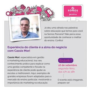 Palestra Cássio Mori - Experiência do Cliente