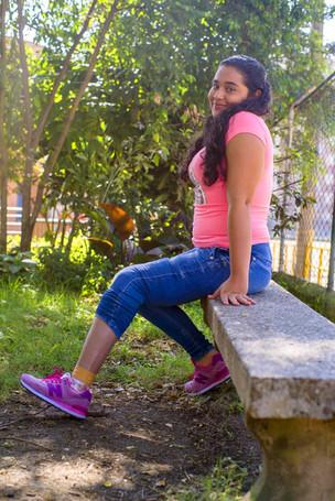Beneficiaria de prótesis