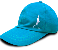 Gorra azul turqueza