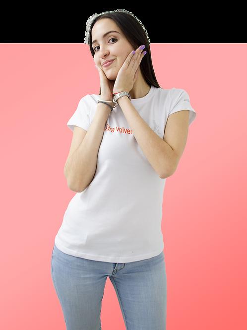 Camiseta blanca para ella