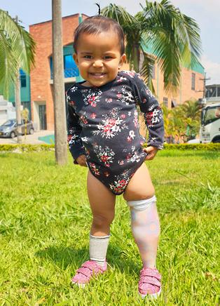 Amelia, una pequeña de grandes pasos