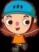 esperancita patines - mascota