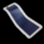 placa solar flexível