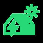 icone casa energia solar