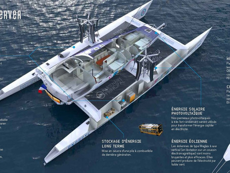 Primeiro barco ecologicamente autossustentável do mundo!