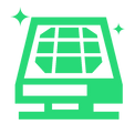 icone placa energia solar