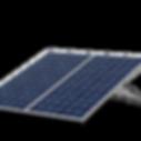 Placa solar dupla