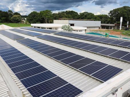 Entra em operação o 1º sistema de energia solar fotovoltaica financiado pelo Sicoob Engecred-GO