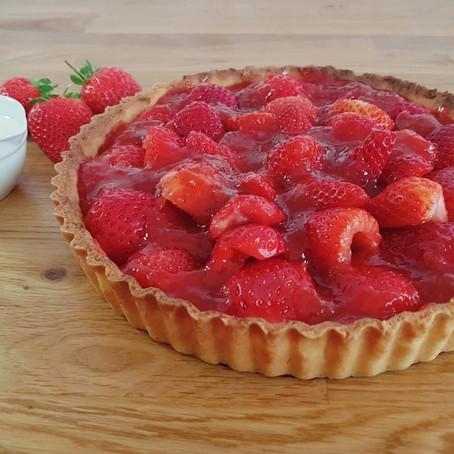 Pâte sucrée (sweet shortcrust pastry)  // 1960s