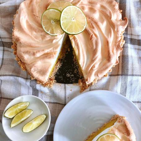 Lime Meringue Pie  // 1970s