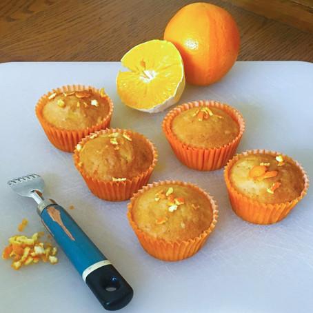 Orange Fairy Cakes  // 1940s