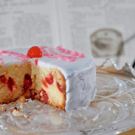 Iced Cherry Cake  // 1920s