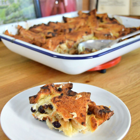 Bread & Butter Pudding  // 1930s