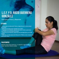 Curriculum L.E.F Y D. Rocío