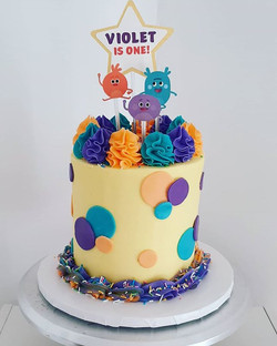 Happy first birthday to little Violet! W